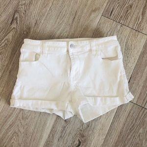 Pacsun White Jean Shorts